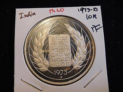 INV #Th60 India 1973-B 10 Rupees Proof