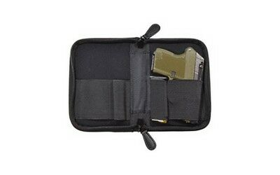 PS Products Holster Mate Pistol Case Fits Small Frame Handguns Black NPCSBLK
