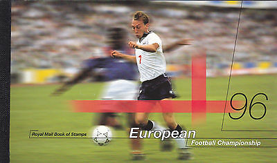 GB - 1996 - European Football -  DX18 - Cat £20