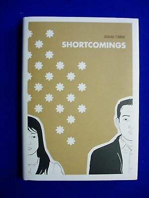 Shortcomings: Adrian Tomine. Hard cover, 1st edition. New.