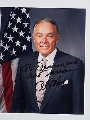 ALEXANDER HAIG Secretary of State Autographed 8x10 Glossy Color Photo with COA