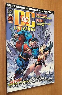 DC UNIVERSE nr 20  PLAY PRESS  SUPERMAN  BATMAN  empire