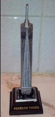 Freedom Tower New York City brown base 5.5 inches high one world trade center