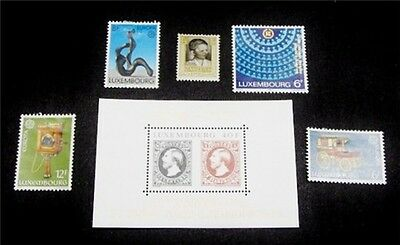 nystamps Luxembourg Stamp # 547 // B43 Mint OG NH / H $32