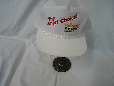 The Smart Choice Wagner Pro Series Airless White Summer Hat Baseball Cap