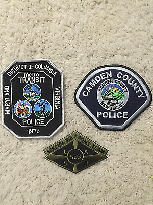 Los Angeles County Sheriff SWAT SEB Police Patch