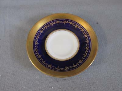 Vintage Aynsley Georgian Cobalt Blue Saucer #7348 VGC - Spare or replacement