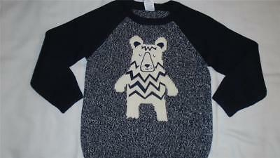 NEW Boys Size 4T Gymboree Sweater with Bear 2017 Slope Star Line NWT