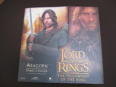 """Figura escala 1:6. ARAGORN """"The Lord of the Rings"""" . SIDESHOW. Action figure 12"""""""