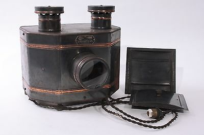 H.C. White Co. RARE Radioptican Positive Image Projector Post Card Viewer AS IS