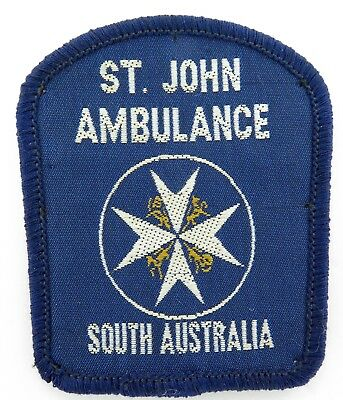 Early Version St. John Ambulance South Australia Patch. #2