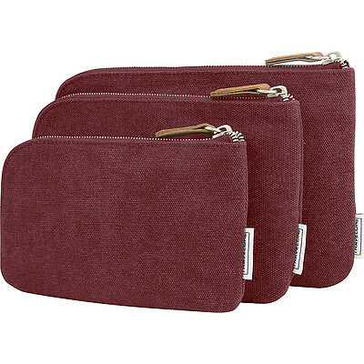 Travelon Heritage 3 Packing Pouches 4 Colors Travel Organizer NEW