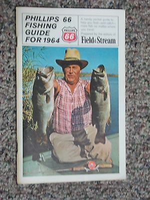 Phillips 66 Fishing Guide For 1964 BY FIELD & STREAM FRESH & SALT WATER