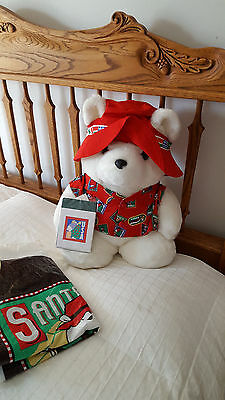 Dayton Hudson Santa Bear  World Traveler 1993