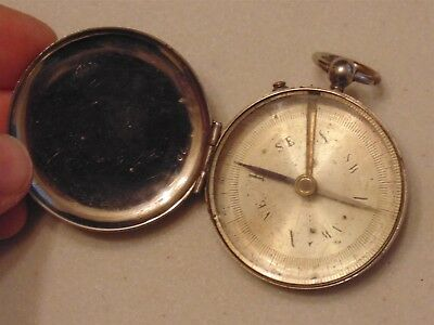 Compass French hunting outdoor antique watch