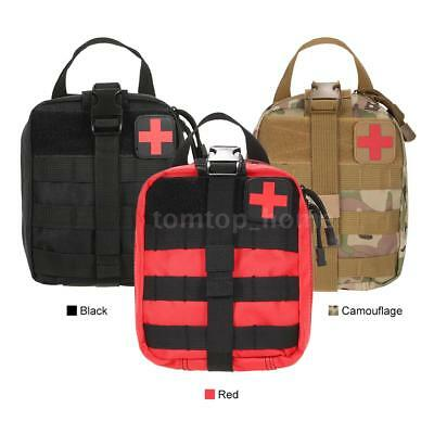 Outdoor Medical First Aid Pouch MOLLE System Utility Bag First Aid Patch P6J1