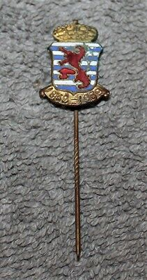 Rare Vintage A. Nimax Luxembourg 100 Years Independence 1839-1939 Enamel Pin