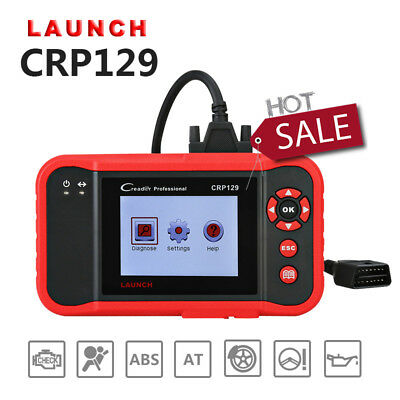 Free Updates LAUNCH Creader CRP129 OBD2 Code Reader Airbag EPB SRS Engine SAS