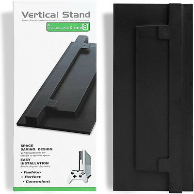 Vertical Stand Mount Dock Holder Base  For Microsoft Xbox One S (Slim) Console