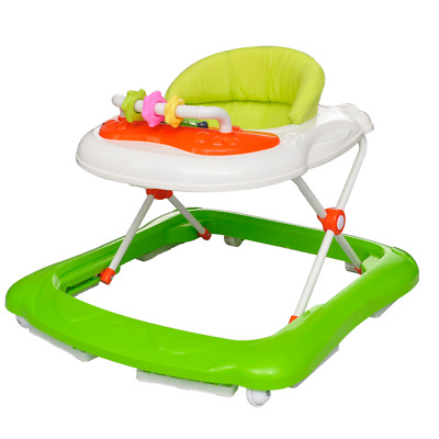 S# New Baby Walker Car Activity Centre First Step Play Infant Rocker Music Yello