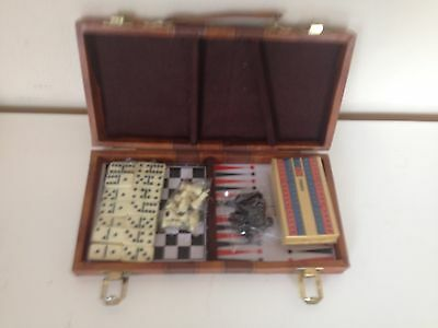 Vintage  Boxed Game 3 Game In One Boxe