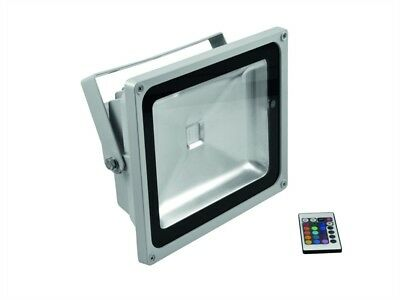 EUROLITE LED IP FL-50 COB RGB 120° Outdoor IP65 mit Fernbedienung