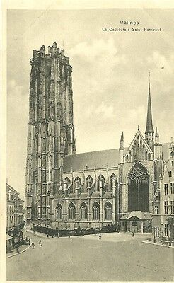Malines  - Cathedrale St Rombaut  -  Non Circulee  - Voir Scan