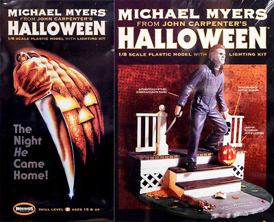 Michael Myers Halloween John Carpenter 1:8 Model Kit Bausatz Moebius 970