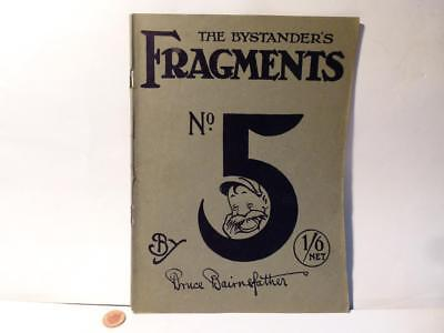 WW1 Bruce Bairnsfather The Bystanders Fragments No 5 Cartoons Book