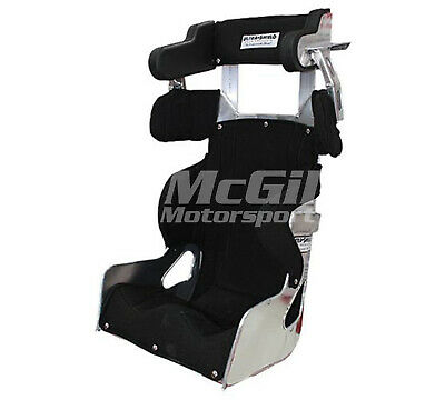 """Ultra Shield Adult Full Containment Race Seat + Black Cover Size 14"""" Ultrashield"""