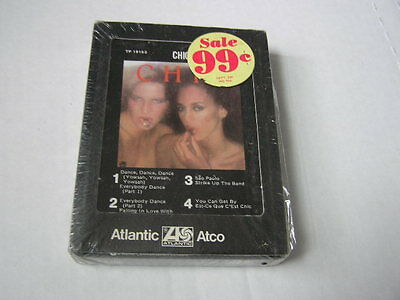Sealed Chic 8-Track Tape Self Title