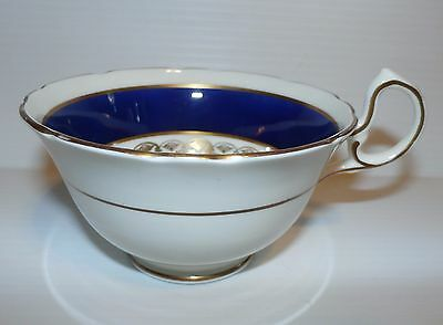 """Aynsley """"Blue"""" Bone China Tea Cup Only - Made in England"""