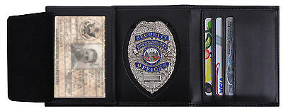 Detective Leather ID and Badge Wallet Rothco 1134
