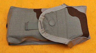 Double Magazine pouch holds 2-30rd. MAGS Three Color Desert  Brand new