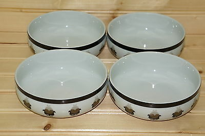 Block Allspice Lot of (4) Dessert, Berry, Fruit Bowls, 5""