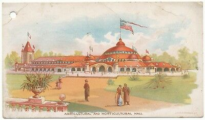 Agricultural And Horticultural Hall California Midwinter International Expo 1894