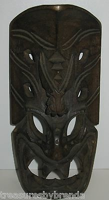 Small Hand Carved Wooden Dragon Mask Philippines