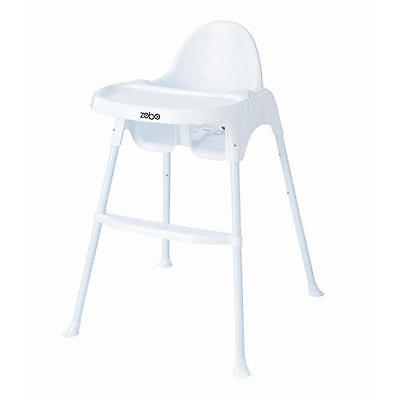 New Zobo Summit High Chair - White Model:24295836