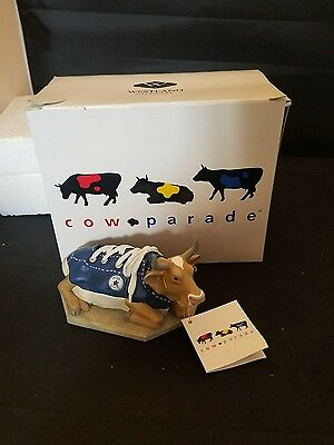 Cow Parade MooShoe Moo Shoe Original Box Excellent