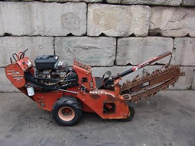 Ditch Witch Rt-12 Walk Behind Trencher Made In 2009 Works Great