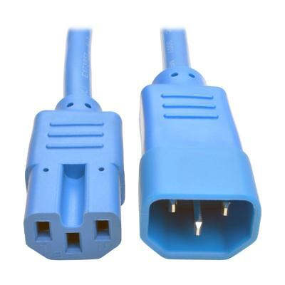 Tripp Lite P018-003-ABL - 0.91m Hvy Duty Power Ext Cord 15A Blue