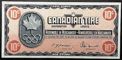Vintage 1976 Canadian Tire 10 Cents Note ***Great Condition*** Free Combined S/H