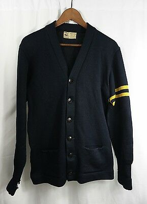 vintage 40s/50s VARSiTY SWEATER from UCLA - H.L. WHITING University/California