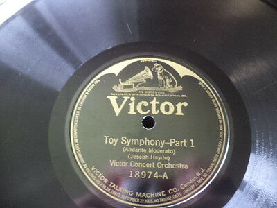 Early 20s VICTOR 78/Victor Concert Orchestra+Effects/Haydn-Toy Symphony/E