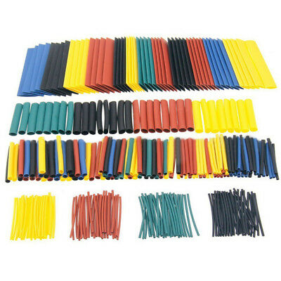 328Pcs 8 Sizes Assortment 2:1 Heat Shrink Tubing Sleeving Wrap Wire Kit