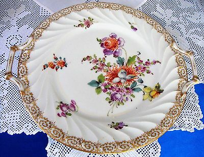 DRESDEN PLATE / TRAY Two HANDLED