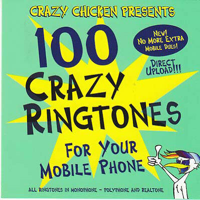 100 crazy ringtones - 100 crazy ringtones (CD NEU!) 090204965366