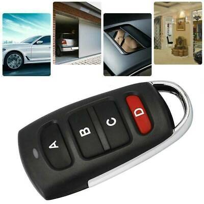 Universal Electric Garage Door Gate Remote Control Key FOB Cloning Cloner 433mhz