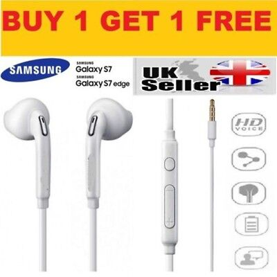 Genuine For Samsung Galaxy S7 S6 Edge S5 Note 3 4 Handsfree Earphones Headphones