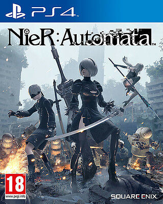 Nier Automata (PS4)  BRAND NEW AND SEALED - QUICK DISPATCH